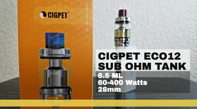 Hardware Review: ECO12 from Cigpet