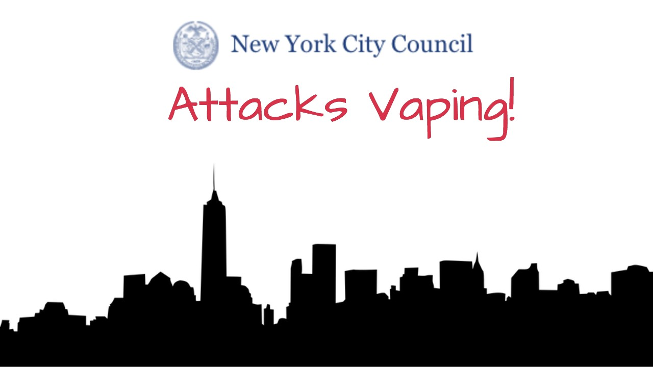 New York City Council Attacks Electronic Cigarettes With Several Bills