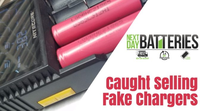 UK's Next Day Battery Found Selling Fake Chargers