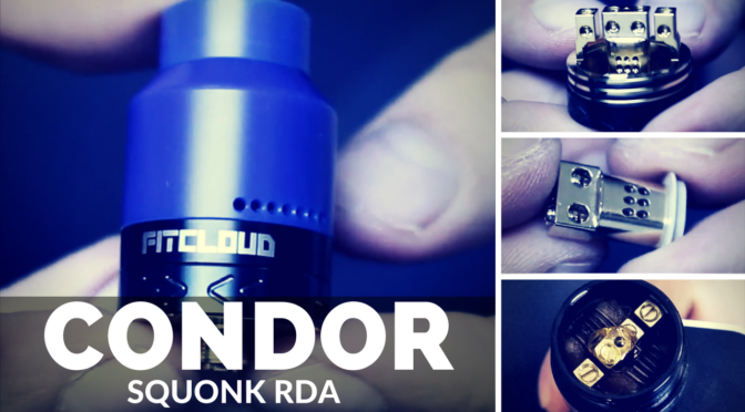 Review of the Condor Squonk RDA from Fitcloud