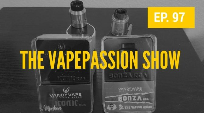 The Latest Vape News – The VapePassion Show Episode 97