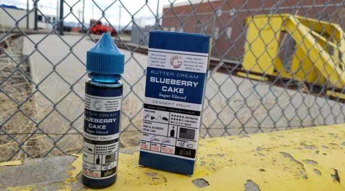 Review of Blueberry Cake from Glas Vapor Basix Series