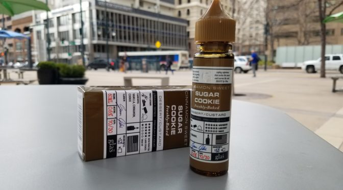 Review of Sugar Cookie from Glas Vapor Basix Series