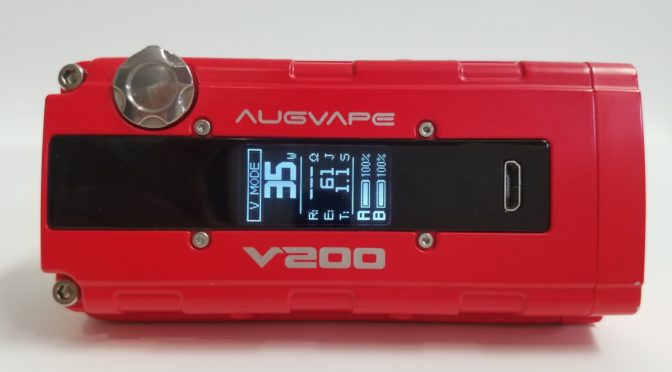 Augvape v200 Box Mod Review