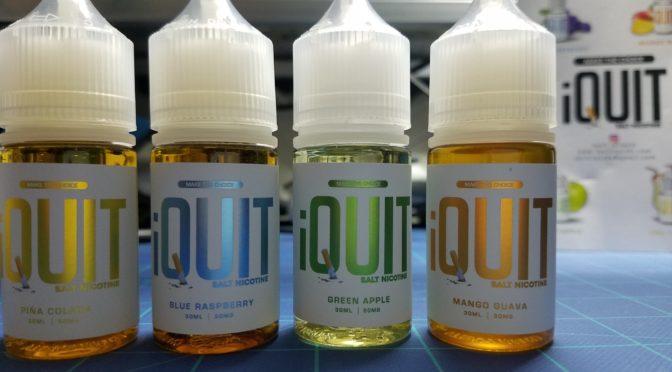 iQuit E-Juice Review – High Nic Salt Nic E-Liquid