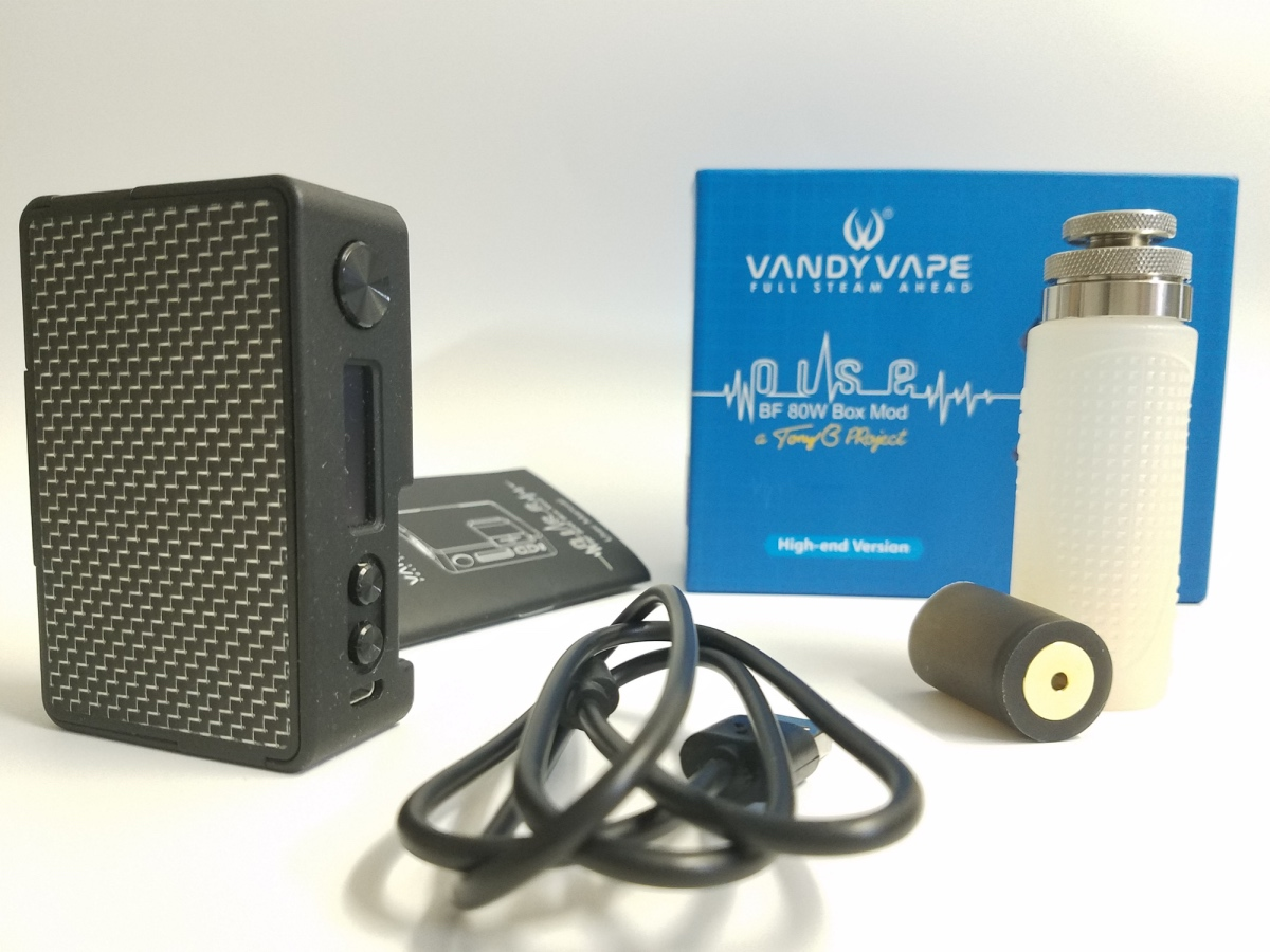 Vandy Vape Pulse BF 80w Box Mod Review - VapePassion com
