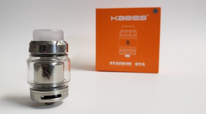 Kaees Stacked RTA Review - VapePassion com