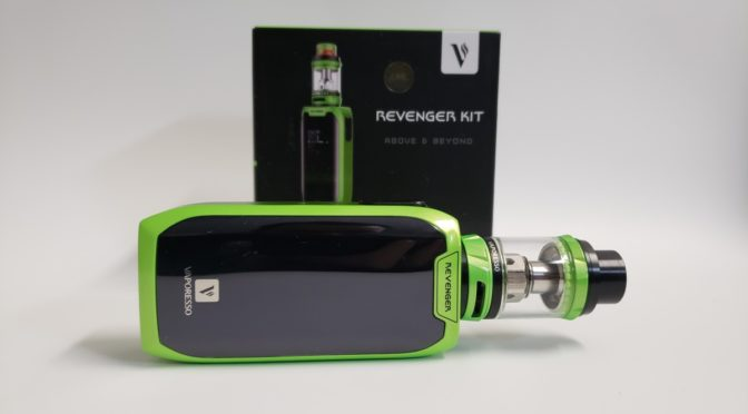 Review of the Vaporesso Revenger 220w with the NRG Tank