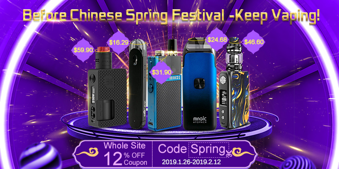 VapeSourcing Deals  – Chinese New Year