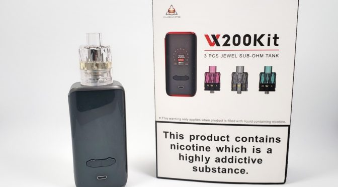 First Impressions – Augvape VX200 and Disposable Jewel Tank