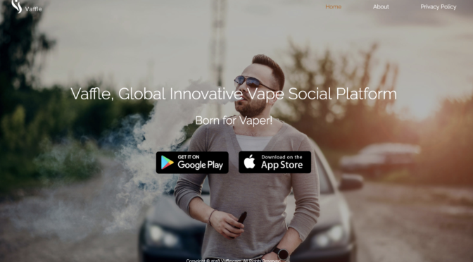 Vaffle: A Social Network Designed Exclusively for Vapers