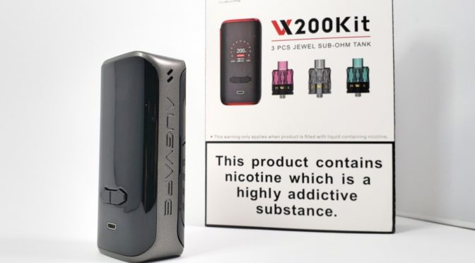 Augvape VX200 Box Mod Review