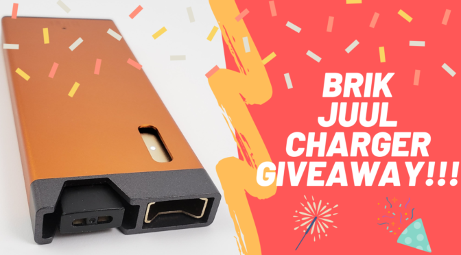 Giveaway! – Review of Brik Juul Chargers and USB Charging Cables