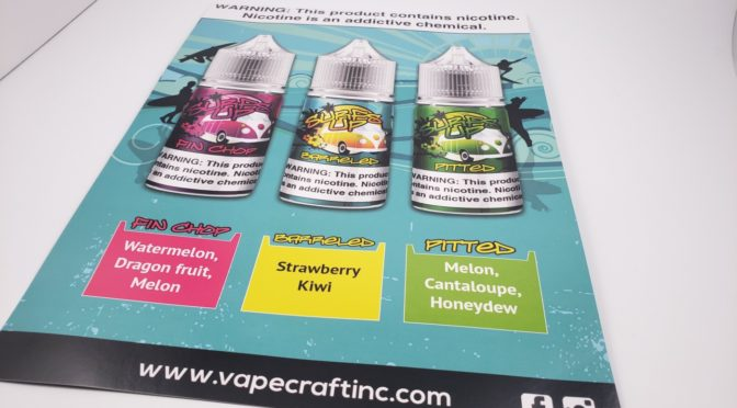 The Surf's Up Salt Nic Line from Vape Craft Inc