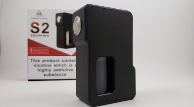 The Augvape and MassMods S2 Squonk Mod
