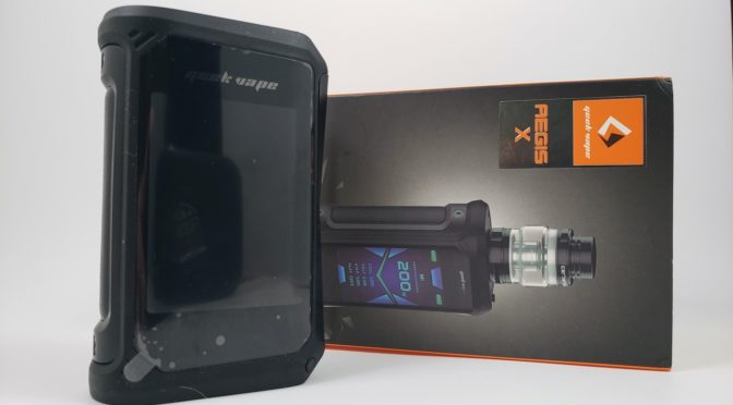 Review of The Geekvape Aegis X Kit